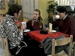 Des Clarke, Melissa Jarrett, Josh Anderson in Neighbours Episode 1291