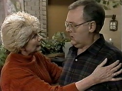Madge Bishop, Harold Bishop in Neighbours Episode 1291