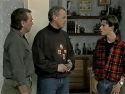Doug Willis, Jim Robinson, Todd Landers in Neighbours Episode 1291