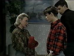 Helen Daniels, Todd Landers, Paul Robinson in Neighbours Episode 1292