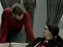 Ryan McLachlan, Dorothy Burke in Neighbours Episode 1292