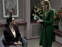 Dorothy Burke, Geraldine Ogilvy in Neighbours Episode 1293