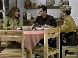 Isabella Lopez, Paul Robinson, Helen Daniels in Neighbours Episode 1293