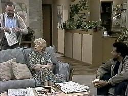 Harold Bishop, Madge Bishop, Eddie Buckingham in Neighbours Episode 1293