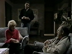 Madge Bishop, Eddie Buckingham, Harold Bishop in Neighbours Episode 1294