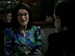 Dorothy Burke, Maurice in Neighbours Episode 1295