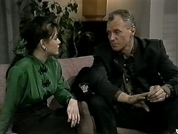 Caroline Alessi, Jim Robinson in Neighbours Episode 1295