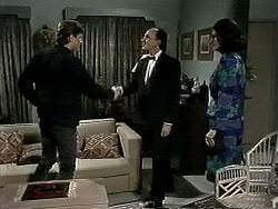 Ryan McLachlan, Maurice, Dorothy Burke in Neighbours Episode 1295