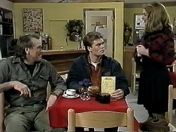 Doug Willis, Adam Willis, Melanie Pearson in Neighbours Episode 1295