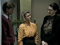 Ryan McLachlan, Helen Daniels, Dorothy Burke in Neighbours Episode 1295
