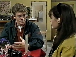Adam Willis, Caroline Alessi in Neighbours Episode 1295