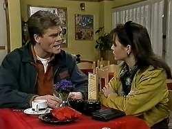 Adam Willis, Caroline Alessi in Neighbours Episode 1296