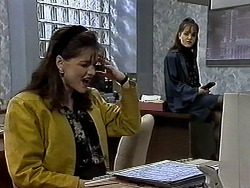 Caroline Alessi, Christina Alessi in Neighbours Episode 1296