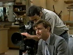 Cameraman, TV Interviewer in Neighbours Episode 1296
