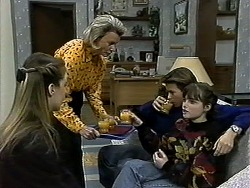 Melissa Jarrett, Helen Daniels, Todd Landers, Cody Willis in Neighbours Episode 1297
