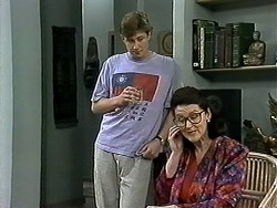 Ryan McLachlan, Dorothy Burke in Neighbours Episode 1297