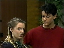 Melissa Jarrett, Josh Anderson in Neighbours Episode 1297