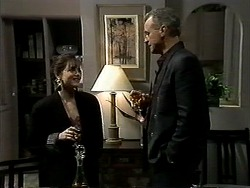 Caroline Alessi, Jim Robinson in Neighbours Episode 1297