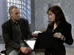 Jim Robinson, Caroline Alessi in Neighbours Episode 1297
