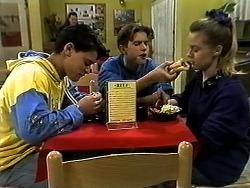 Josh Anderson, Todd Landers, Melissa Jarrett in Neighbours Episode 1297