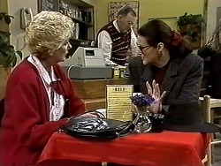 Madge Bishop, Harold Bishop, Dorothy Burke in Neighbours Episode 1298