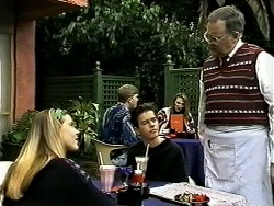 Melissa Jarrett, Todd Landers, Harold Bishop in Neighbours Episode 1298