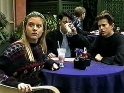 Melissa Jarrett, Josh Anderson, Todd Landers in Neighbours Episode 1298