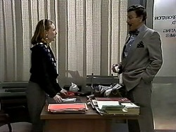 Melanie Pearson, Mr. Sylvester in Neighbours Episode 1298