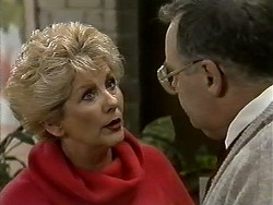 Madge Bishop, Harold Bishop in Neighbours Episode 1298