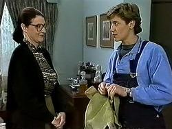 Dorothy Burke, Ryan McLachlan in Neighbours Episode 1300