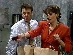 Paul Robinson, Isabella Lopez in Neighbours Episode 1300