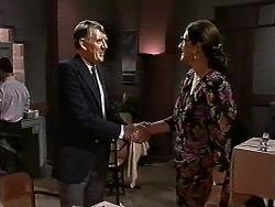 Geoffrey Belmont, Dorothy Burke in Neighbours Episode 1300