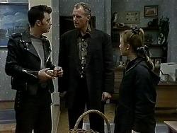 Matt Robinson, Jim Robinson, Gemma Ramsay in Neighbours Episode 1300