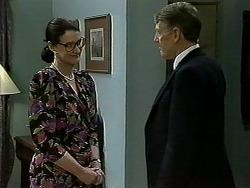 Dorothy Burke, Geoffrey Belmont in Neighbours Episode 1300