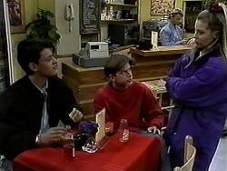 Josh Anderson, Todd Landers, Helen Daniels, Melissa Jarrett in Neighbours Episode 1301