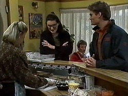 Helen Daniels, Dorothy Burke, Adam Willis in Neighbours Episode 1303