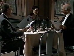 John Brice, Dorothy Burke, John A in Neighbours Episode 1303