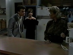 Paul Robinson, Caroline Alessi, Helen Daniels in Neighbours Episode 1303