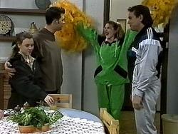 Gemma Ramsay, Matt Robinson, Melanie Pearson, Doug Willis in Neighbours Episode 1304