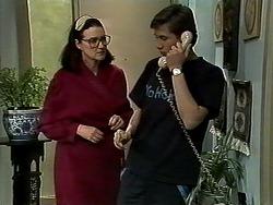 Dorothy Burke, Ryan McLachlan in Neighbours Episode 1304
