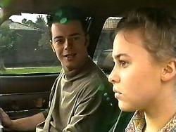Matt Robinson, Gemma Ramsay in Neighbours Episode 1304