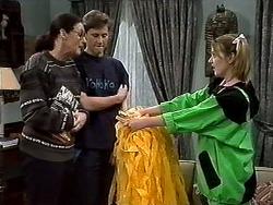 Dorothy Burke, Ryan McLachlan, Melanie Pearson in Neighbours Episode 1304