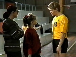 Dorothy Burke, Caroline Alessi, Adam Willis in Neighbours Episode 1304