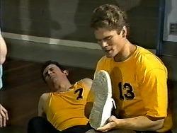 Des Clarke, Adam Willis in Neighbours Episode 1304