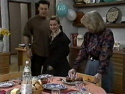 Matt Robinson, Gemma Ramsay, Helen Daniels in Neighbours Episode 1305