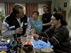 Doug Willis, Pam Willis, Ryan McLachlan, Dorothy Burke in Neighbours Episode 1305