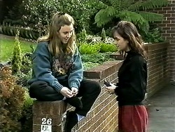 Gemma Ramsay, Caroline Alessi in Neighbours Episode 1306