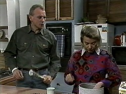 Jim Robinson, Helen Daniels in Neighbours Episode 1306