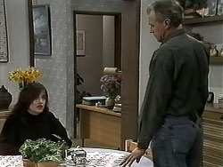 Caroline Alessi, Jim Robinson in Neighbours Episode 1306
