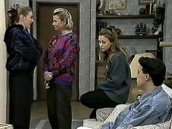 Melanie Pearson, Helen Daniels, Gemma Ramsay, Aidan Devlin in Neighbours Episode 1306
